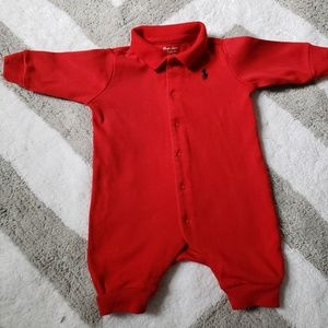 One piece Polo Newborn Outfit